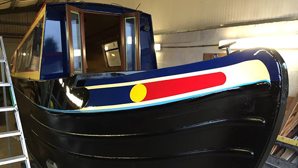 Morning Star- Bow freshly painted